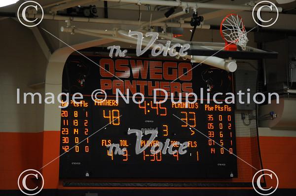 Oswego High School Basketball vs Plainfield South 12-6-13