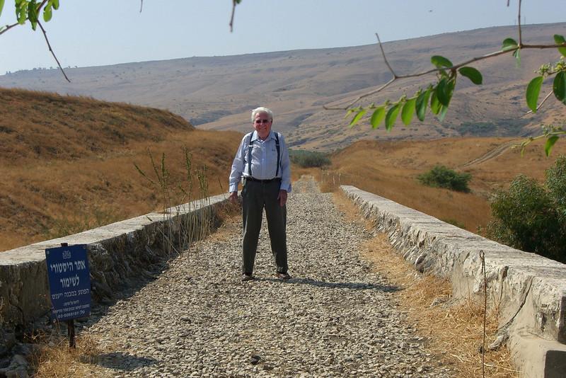 4-Haifa-Damascus railroad bridge along the Jordan River, below Belvoir