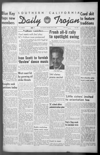 Daily Trojan, Vol. 36, No. 212, October 02, 1945