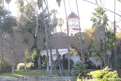 17 December 2017 Queen Ann Cottage at the L.A. Arboretum