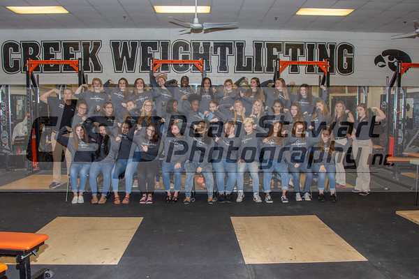 Girls Weightlifting 11.7.18