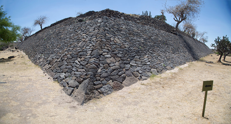 Peralta main structure.  For more on Peralta excavations, see: https://en.wikipedia.org/wiki/Peralta_(Mesoamerican_site)
