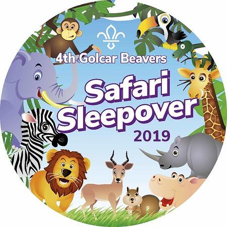 Jungle Safari Sleepover Feb 2019