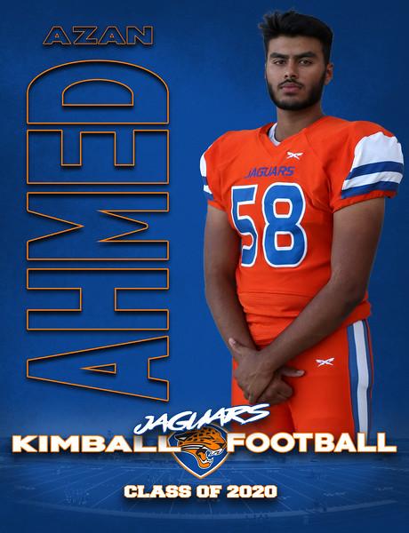2019 - Kimball Football Senior Posters