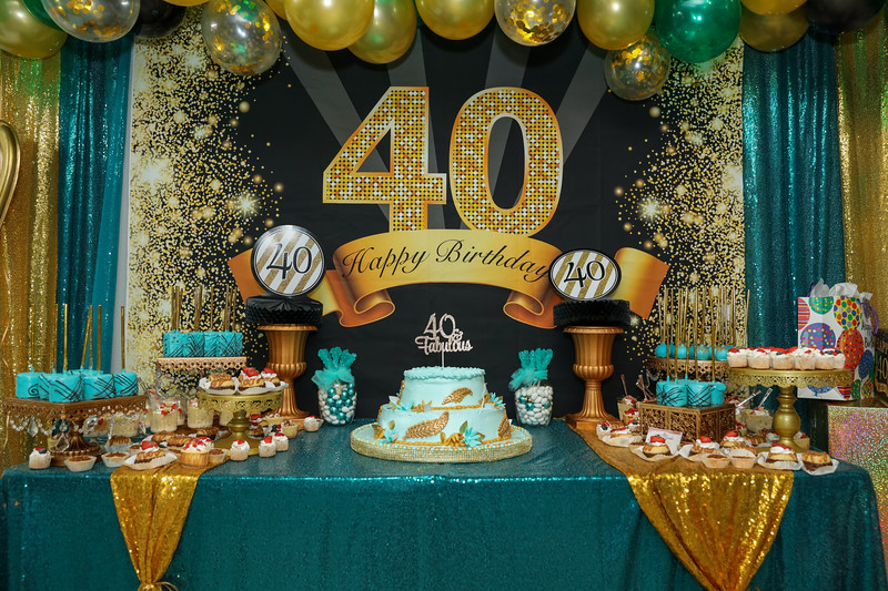 Karol Martine's 40 & Fabulous Birthday Photos