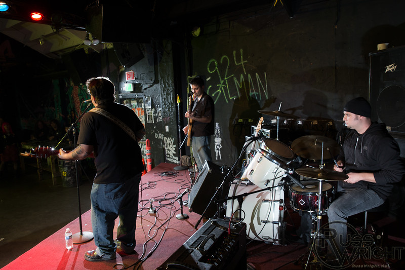 Rock With Billy @ 924 Gilman St, Berkeley, CA. January 2013