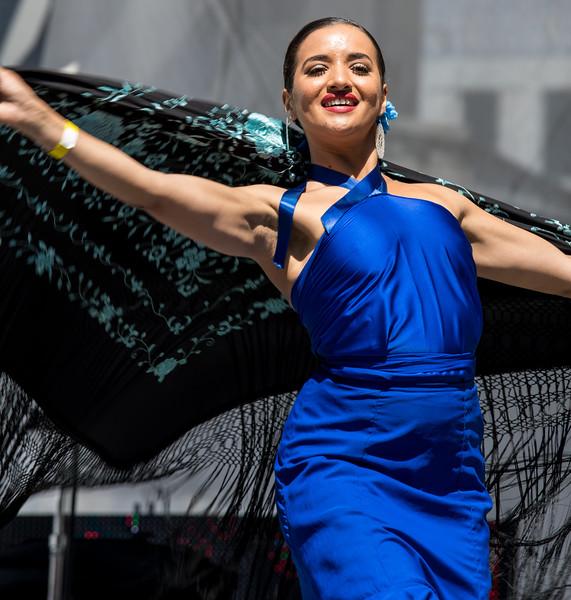 """Abhithi"" & Dancers, desiFEST 2018"