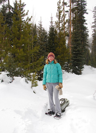 Snowshoeing Ouzel Falls 2010