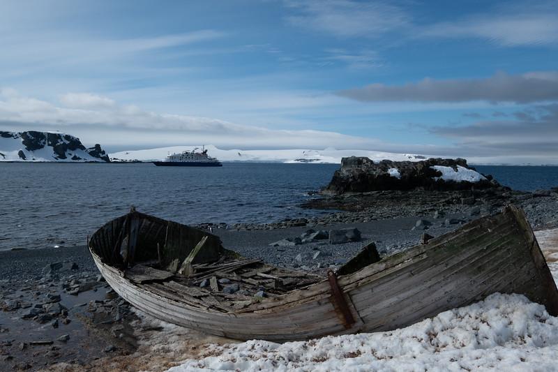 Whaleboat wreck, Half Moon Island, 12/11/18