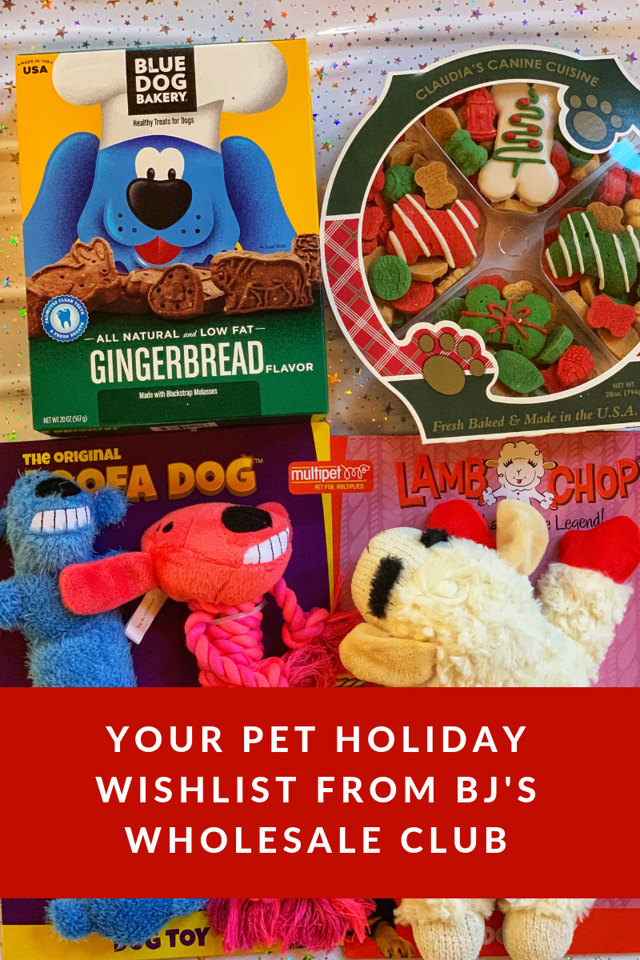 Here's your pet holiday wishlist from BJ's Wholesale Club. It's everything your pets will need for a fantastic holiday season with family #ad #BJsSmartSaver