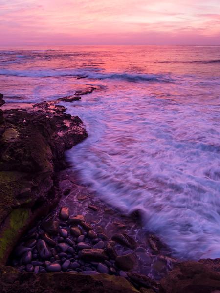 Red Sky Dusk, La Jolla, San Diego, California  (84975)