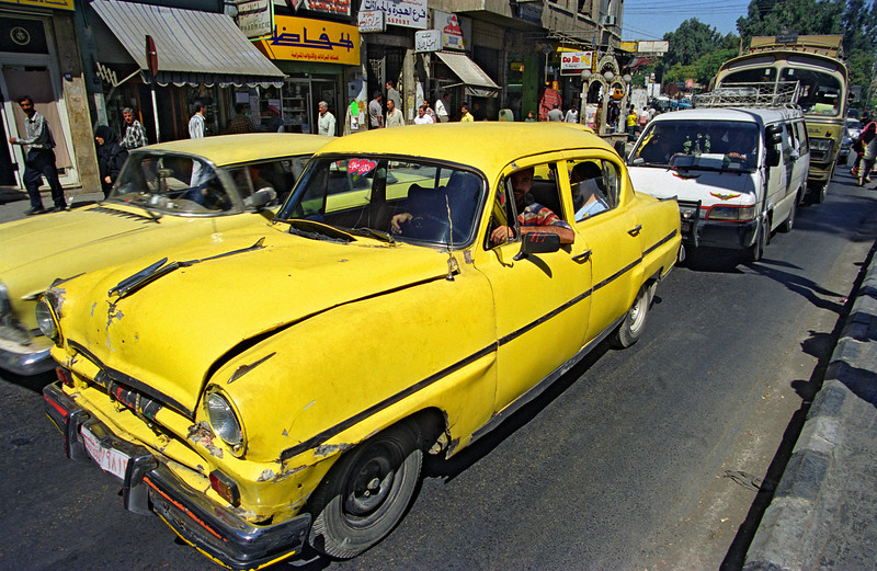 Vintage Cars in Hama, Syria