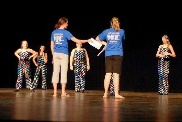 2008 Miss Sylvan Beach Dress Rehearsal (dancers on stage) 04-24-08