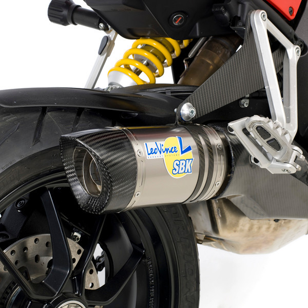 "LeoVince (Leo Vince) exhaust system for the Multistrada 1200 (slip-ons, decat and full system ""coming soon"" - June2011)