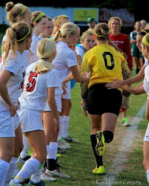 WANDO vs River Bluff | Varsity Girl's 2015