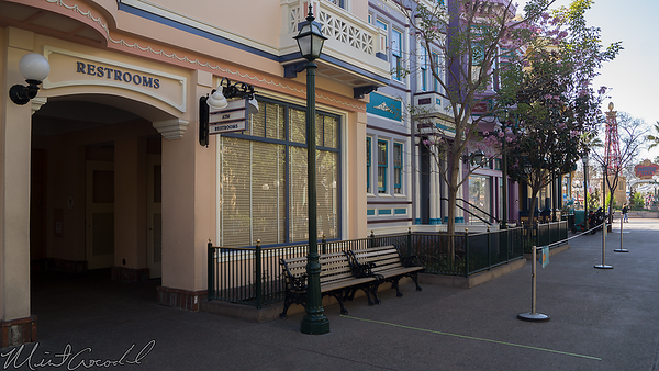 Disneyland Resort, Disney California Adventure, Paradise Pier, Paradise, Pier, Restroom