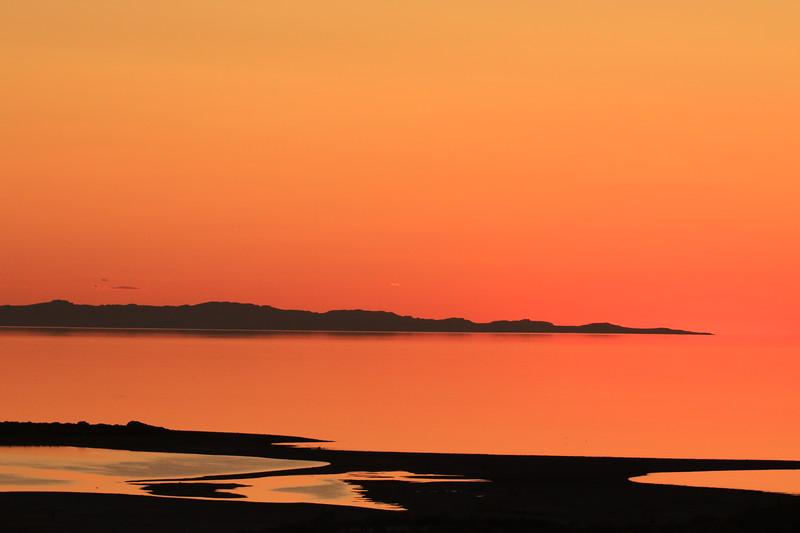 Sunset at Antelope Island, Great Salt Lake