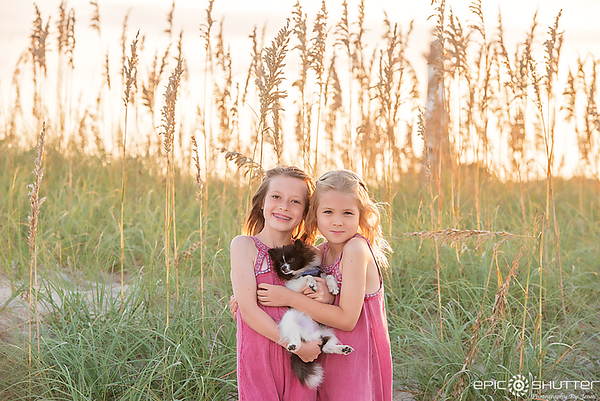 Family Portraits, Sunset, Outer Banks Photographers, Buxton, North Carolina, Cape Hatteras Photographers, Epic Shutter Photography, Family Sunset Portraits, Family Beach Photos, OBX Family Vacation Photos, Wedding Photography, Outer Banks Weddings, Cape H