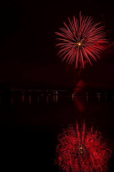 Fireworks at the Clearwater Casino