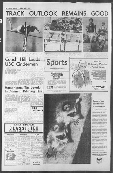 Daily Trojan, Vol. 53, No. 83, March 06, 1962