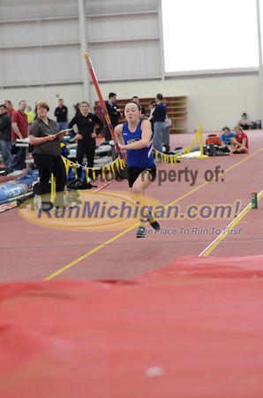 Girl's Pole Vault, Gallery 2 - 2013 MITS State Meet
