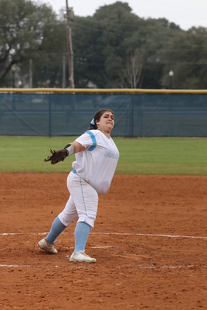 2-5-19 Softball vs. Bossier Parish CC