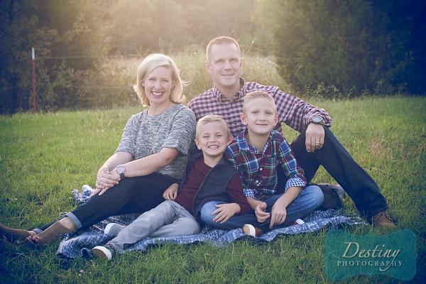 Hawkins Family 2018