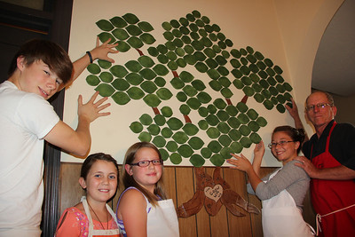 Giving Tree Presentation, Community Arts Center, Tamaqua (7-25-2013)