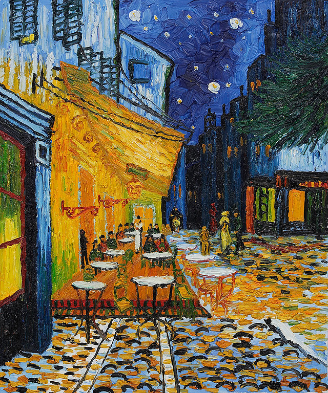 "Van Gogh, ""Cafe Terrace at Night"" (1888)"