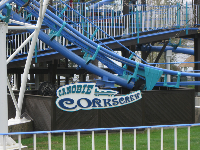 Canobie Corkscrew sign.