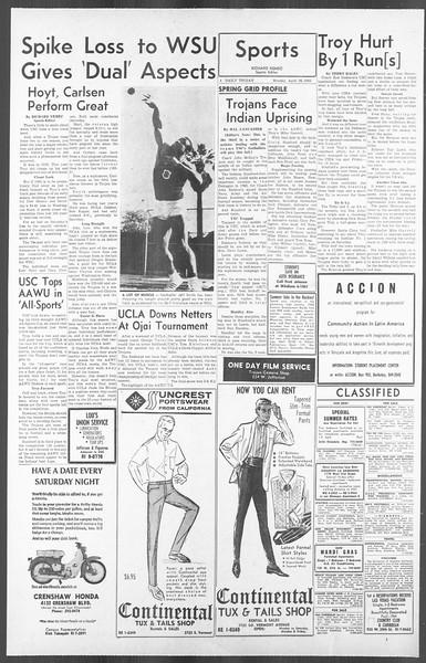 Daily Trojan, Vol. 56, No. 104, April 26, 1965
