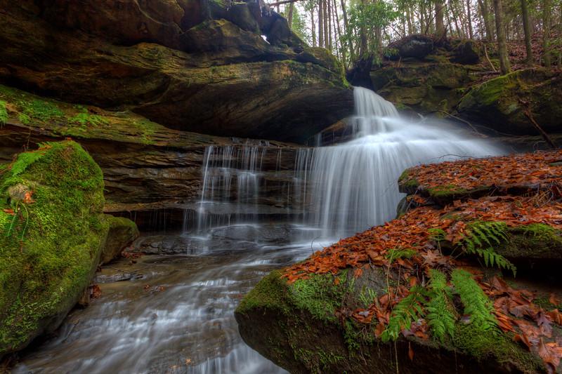 Upper Lick Branch Falls