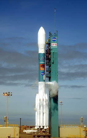 Boeing Delta II launches Gravity Probe  B from Vandenberg AFB. CA. 04-20-2004