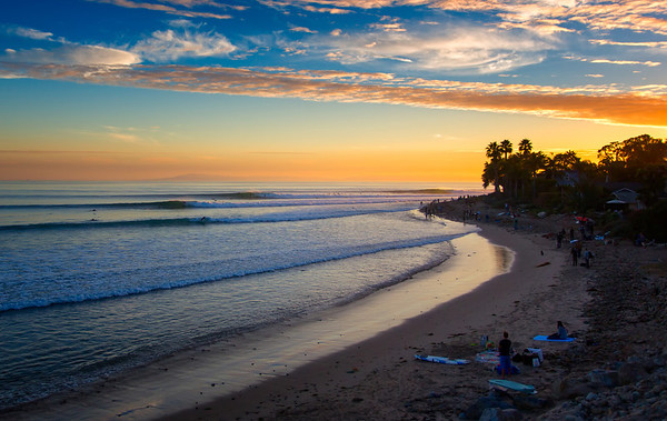 Rincon California Seascapes