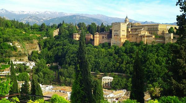 Malaga, Ronda and Granada  -  May 2017