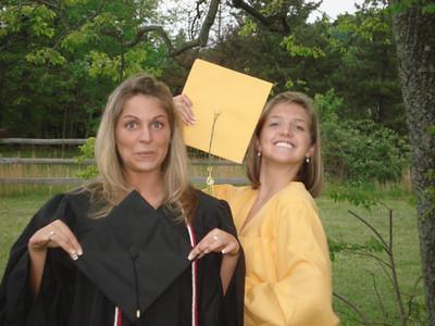 2008 laura & chels graduations