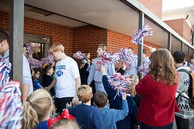 PBS Football State 2010 Pep Rally