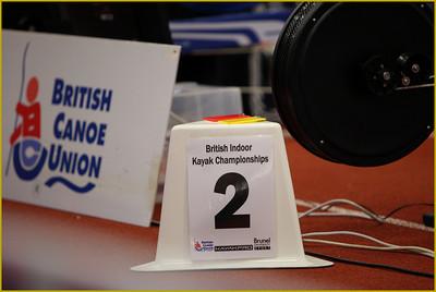 British Indoor Kayak Championships 2009