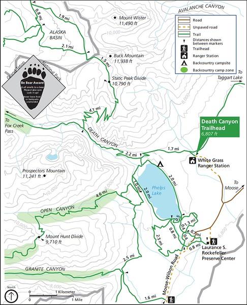 Grand Teton National Park (Death Canyon Trailhead)