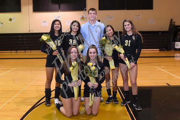 Berks Catholic Girls Volleyball Senior Night