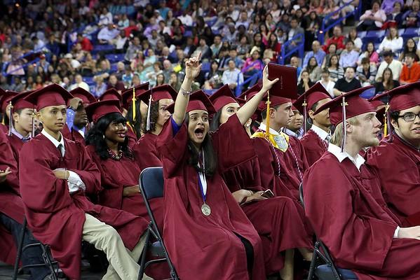 Lowell High School's 2016 graduation