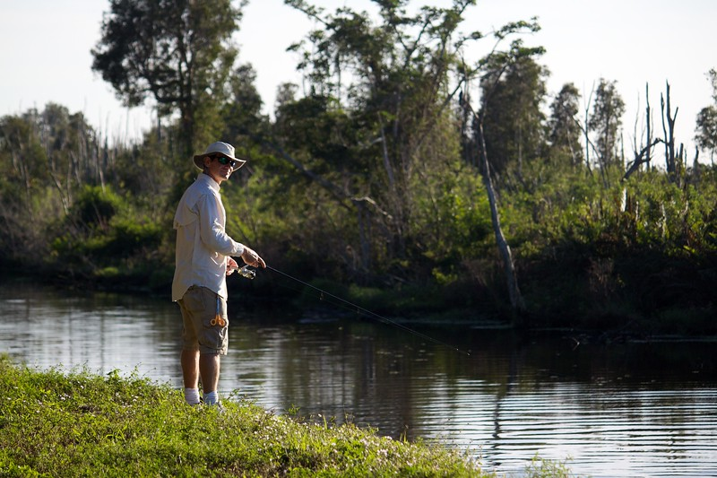 everglades canal fishing