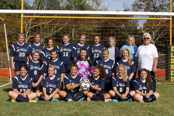 Eldred Vs. Tri-Valley Girls Soccer