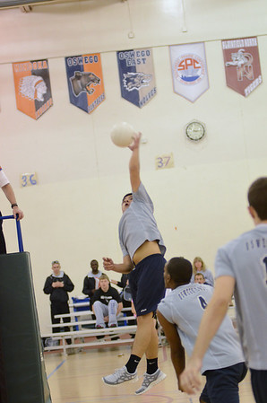 Oswego East boys volleyball (Plainfield No. Tournament 2012)
