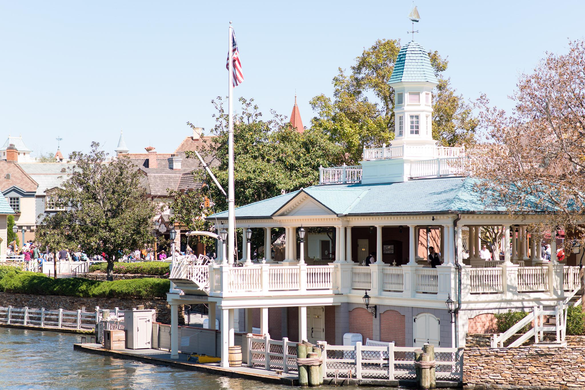 Liberty Belle Dock - Walt Disney World Magic Kingdom