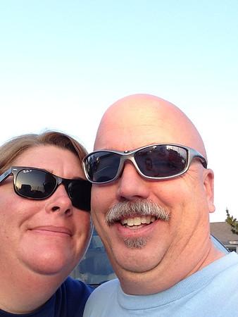 Ocracoke 2014 Mom & Dad
