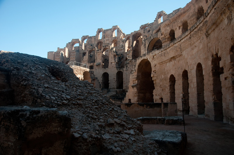 The Amphitheatre of El Jem