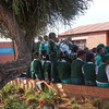 Students on tour at Nelson Mandela's house