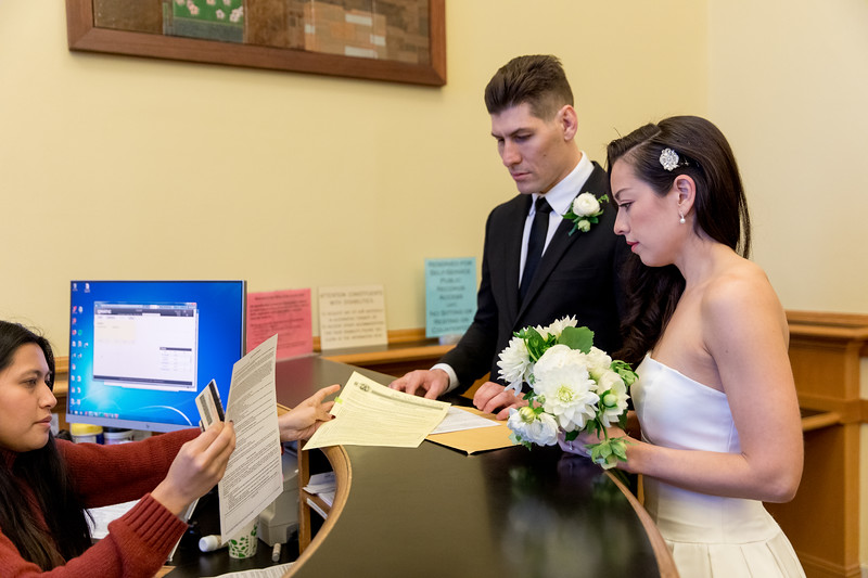 Sari & Sammy City Hall Wedding