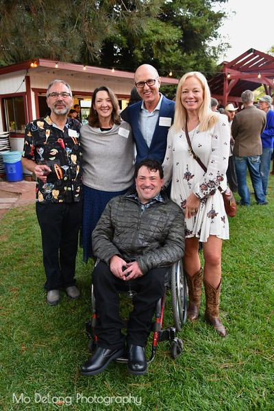 Ron Oliveira, Carolyn and Riley Binford, Tina Lambert and Enock Glidden